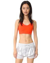 Adidas By Stella McCartney | Multicolor Running Climachill® Stretch Sports Bra | Lyst