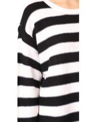 ATM Black Oversized Sweater