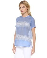Ayr - Blue The Dia Shirt - Lyst