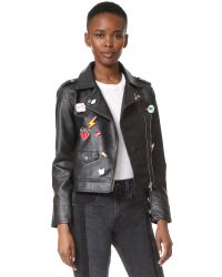 BB Dakota | Black Jack By Ray Moto Jacket | Lyst