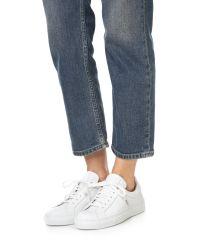 Belstaff White Dagenham Sneakers