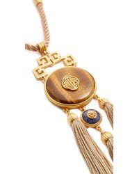 Ben-Amun - Gray Statement Necklace - Lyst