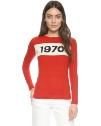 Bella Freud | Red 1970 Sweater | Lyst
