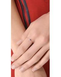 Blanca Monros Gomez - Metallic Sapphire Seed Ring - Lyst