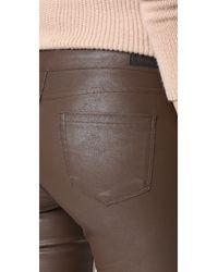 Blank NYC Blue Vegan Leather Pants