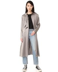 BLK DNM | Multicolor Coat 50 Satin Trench | Lyst