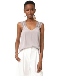 Cami NYC | Gray Chelsea Top | Lyst