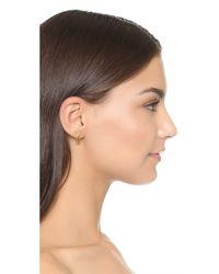 Capwell & Co - Metallic Tiny Light Earrings - Lyst