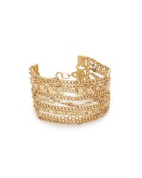 Capwell & Co | Metallic Golden Gala Bracelet | Lyst
