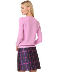 Carven | Blue Applique Sweater | Lyst