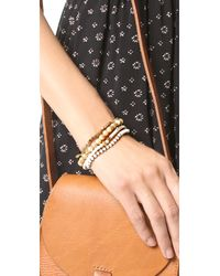 Chan Luu - Metallic Stackable Bracelets - Lyst