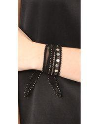 Chan Luu - Black Multi Way Chiffon Wrap With Sequins - Lyst