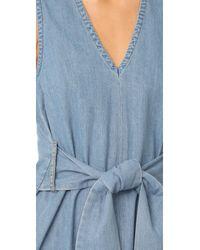 Cheap Monday Blue Rizzle Dress