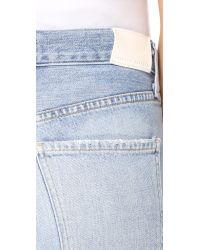 Citizens of Humanity - Blue Cora Crop Jeans - Lyst