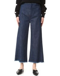 Citizens of Humanity | Blue Palazzo Jeans | Lyst