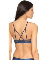 Calvin Klein | Blue One Micro Fashion Bralette | Lyst