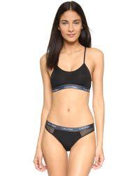 Calvin Klein | Black One Micro Fashion Thong | Lyst