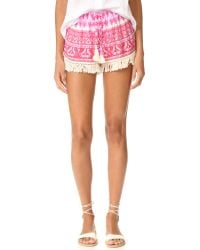 Cool Change   Multicolor Babe Shorts   Lyst