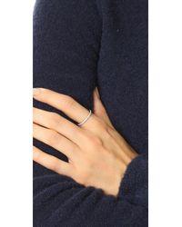 Cloverpost - Multicolor Eternity Ring - Lyst