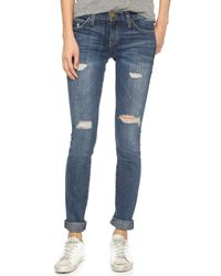 Current/Elliott | Blue The Skinny Jeans | Lyst