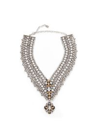 DANNIJO - Metallic Sorella Necklace - Lyst