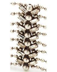 DANNIJO   Metallic Tempest Choker Necklace   Lyst