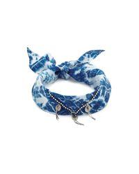 DANNIJO | Blue Adira Bandana Necklace | Lyst