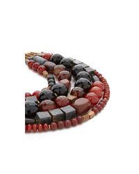David Aubrey | Multicolor Hailey Layered Necklace | Lyst