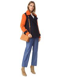 Diane von Furstenberg - Blue Kenzly Coat - Lyst