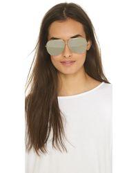 Dita Metallic Condor Sunglasses