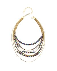 Erickson Beamon | Metallic Hyperdrive Layered Necklace | Lyst