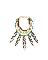 Erickson Beamon | Multicolor Imitation Pearl Safari Necklace | Lyst