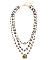 Ela Rae | Multicolor 3 In 1 Ara Necklace | Lyst
