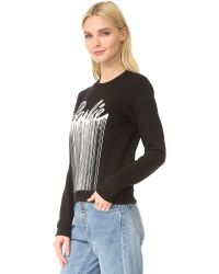ELEVEN PARIS Black Barbie Sweatshirt
