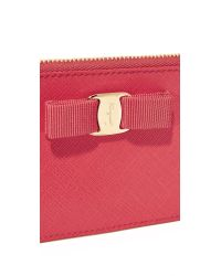 Ferragamo - Multicolor Miss Vara Bow Coin Pouch - Lyst