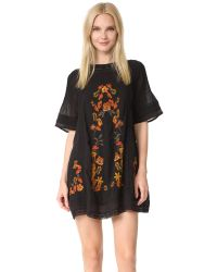 Free People | Black Perfectly Victorian Dress | Lyst