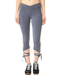 Free People | Gray Movement Turnout Leggings | Lyst
