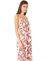 Free People Red Hot Tropics Jumpsuit