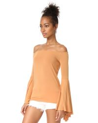 Free People   Natural Birds Of Paradise Top   Lyst