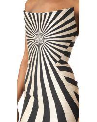 Gareth Pugh Black Corset Dress
