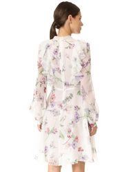 Giambattista Valli White Long Sleeve Dress