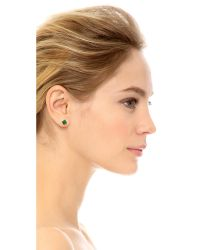 Ginette NY - Multicolor Ever Square Stud Earrings - Lyst