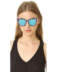 Gentle Monster - Blue Chi Chi Sunglasses - Lyst