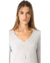 Gorjana - Metallic Chloe Necklace - Lyst