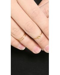 Gorjana | Metallic Carina Midi Ring Set | Lyst