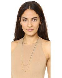 Gorjana | Black Laguna Beaded Necklace | Lyst
