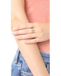 Gorjana | Metallic Mirrah Double Bar Ring | Lyst
