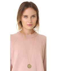 Gorjana | Metallic Faye Pendant Necklace | Lyst