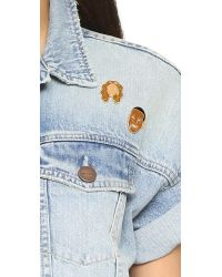 Georgia Perry - Multicolor Jay Z Pin - Lyst