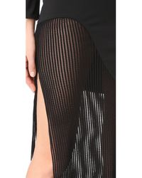 Haney Black Josephine Long Dress